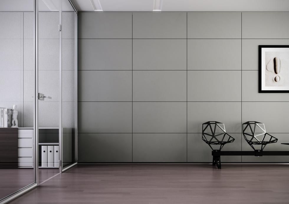 Pareti mobili in laminato e metallo. le pareti ufficio ...