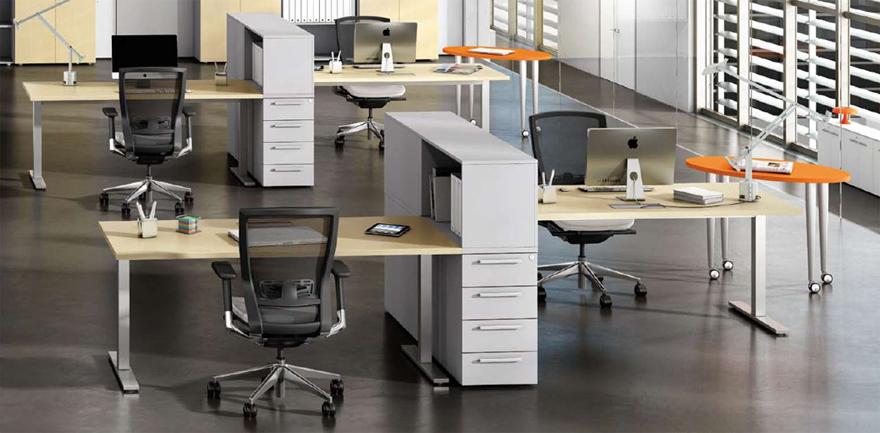 Le scrivanie ufficio operative per massimizzare for Arredi per ufficio milano