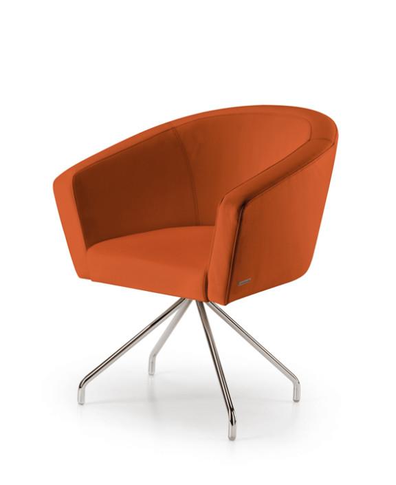 sedie ufficio - poltrone ergonomiche ufficio - gam arredi - Sedie Da Ufficio Rosse