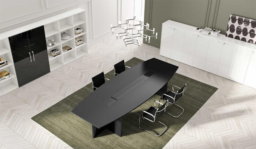 Il tavolo riunioni perfetto per te anche su misura a for Arredo sala riunioni