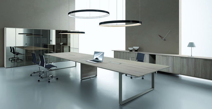 Scrivania ufficio scrivania angolare per ufficio with - Scrivania cristallo ufficio ...