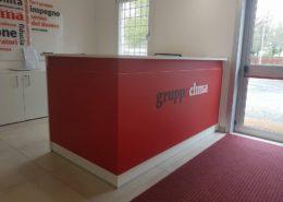 Reception Cliente Gruppo Clima