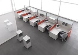 Scrivania ufficio operativa Gam Arredi Diogene 04