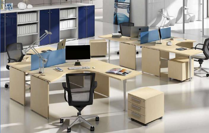 Scrivania ufficio operativa gam arredi Platone P3 03