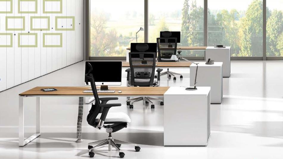 Scrivania Ufficio Sagomata : Realizzazioni ultom isotta prodotti per ufficio con tavoli