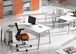 Scrivania ufficio operativa gam arredi Socrate S3 03