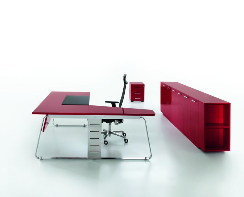 Scrivania ufficio operatva Gam Arredi Aristotele 03