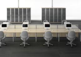 Scrivanie ufficio operative Gam Arredi Diogene 03