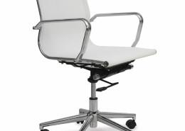 Sedia ufficio bianca Venere 01