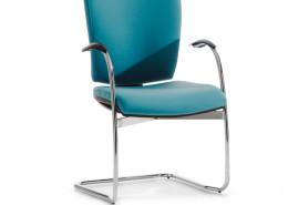 Sedia ufficio blu Rossini 01