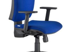 Sedia ufficio blu Rossini 06