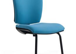 Sedia ufficio blu Rossini 09