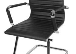 Sedia ufficio nera Afrodite-05