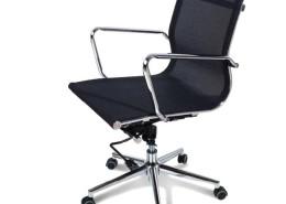 Sedia ufficio nera Venere 03