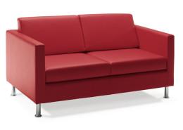 Sedia ufficio rosso Berlino 02
