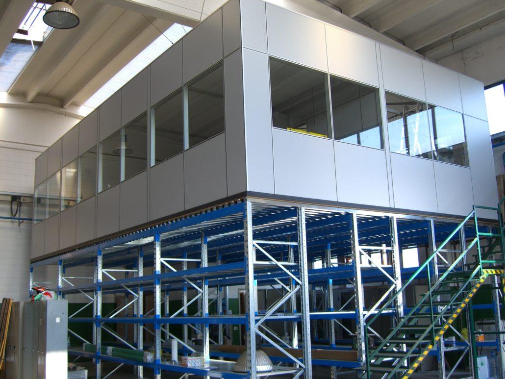 Scaffalature Industriali Brescia.Box Ufficio Scaffalature Industriali E Soppalchi Per Aree