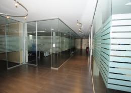 Pareti vetro pavimento Datalogic Bologna A02