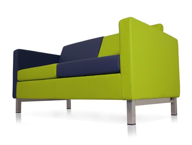 Sedia ufficio verde Berlino 01