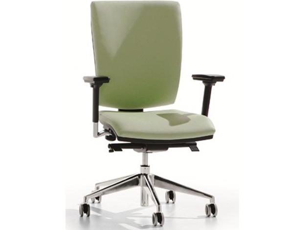 Sedia ufficio verde Rossini 02