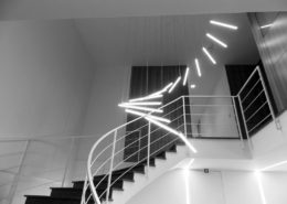 scala ufficio illuminata