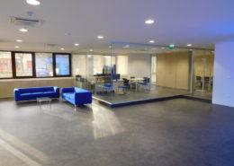 Pareti divisorie per Ufficio linea blu