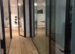 pareti divisorie solution double glass esempio 1