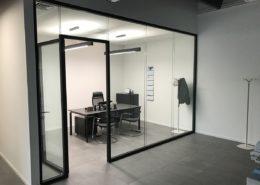 pareti divisorie solution double glass esempio 3