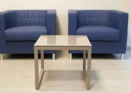 Sala attesa cliente Aria Immobiliare