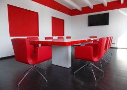 Sala riunioni cliente Olmedo