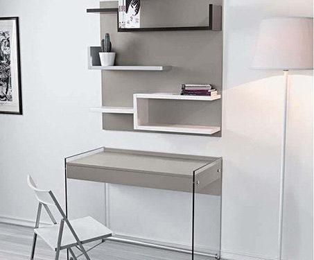 ufficio in casa in legno